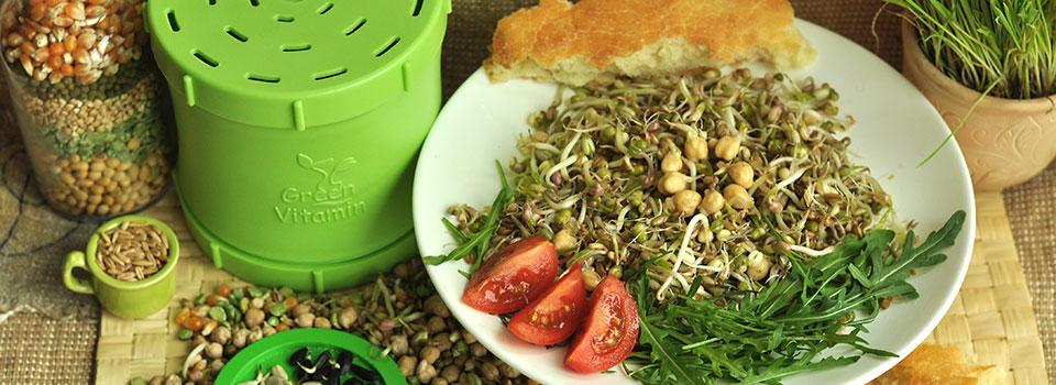 Пророщенное зерно - это лучший источник натуральных витаминов