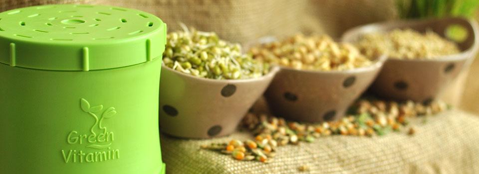 Пророщене зерно містить в 43 рази більше ферментів, ніж непророщене.